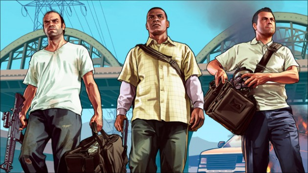 personnages GTA V
